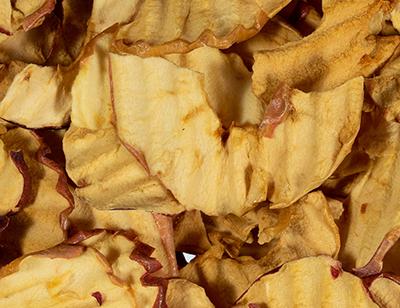 Apple Chips Middle 1/4 Slice